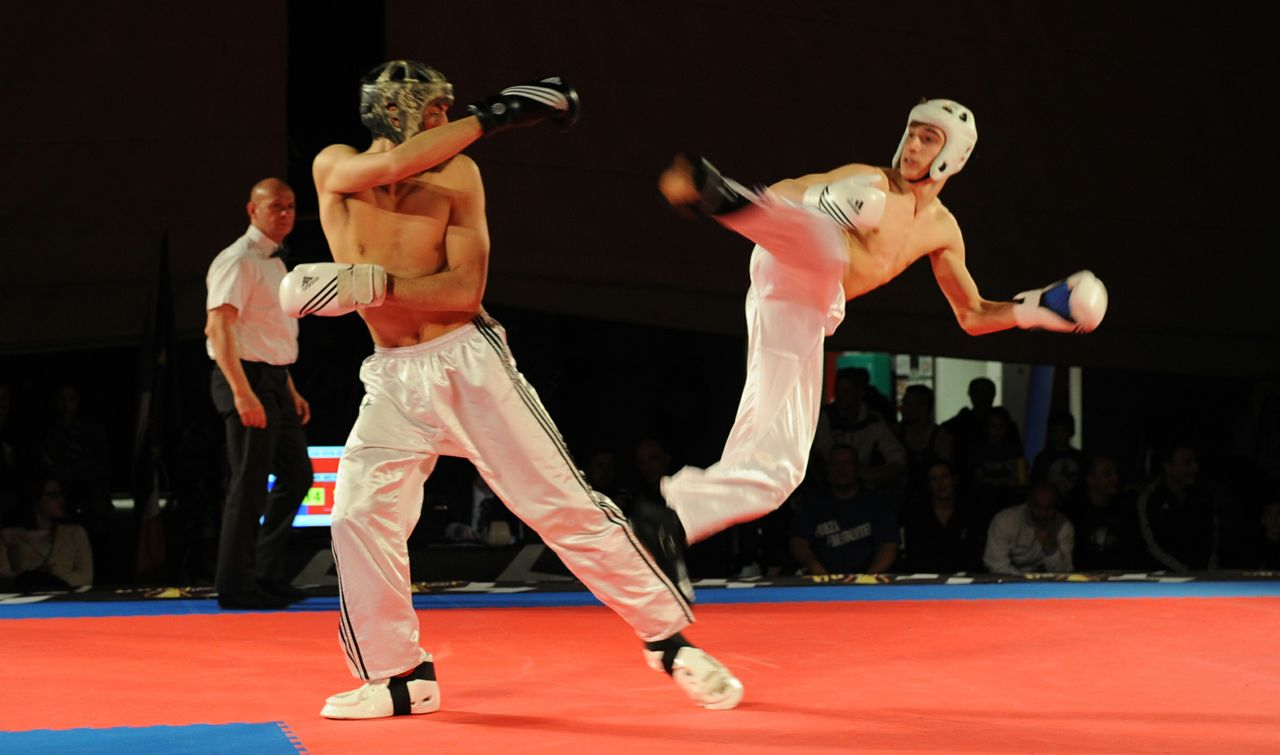 Kickboxing Point Fighting