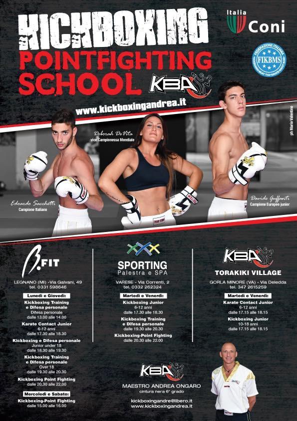 Kickboxing training e difesa personale
