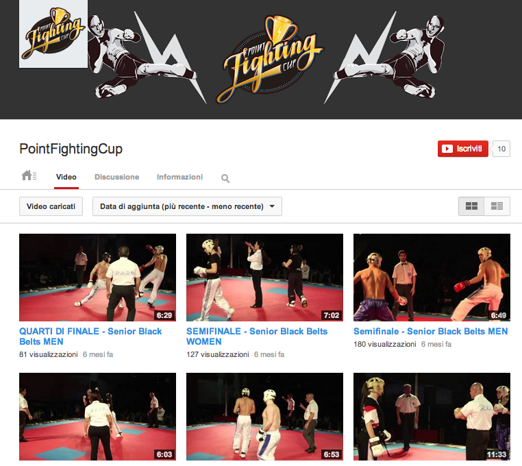 Point fighting club –  You Tube