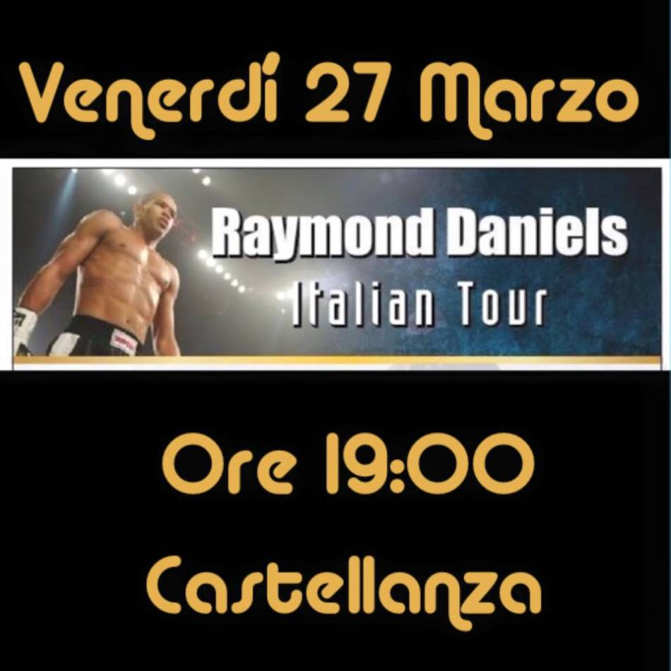 Stage con Raymond Daniels