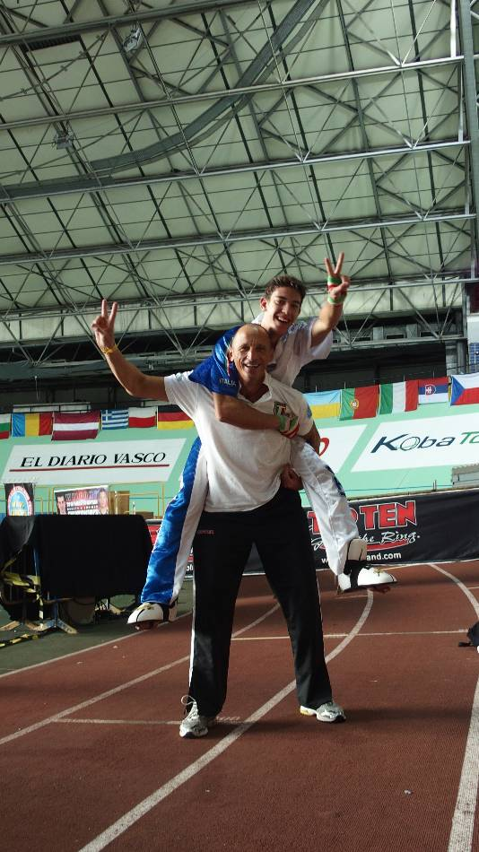 Davide Guffanti Campione Europeo