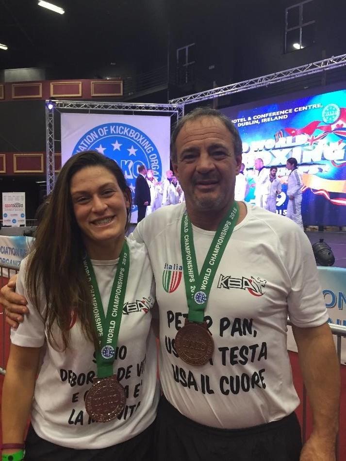 2 Medaglie ai Campionati Mondiali