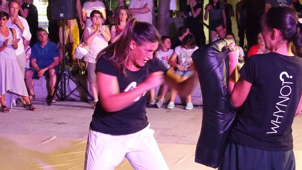 Kickboxing Training and Self Defence