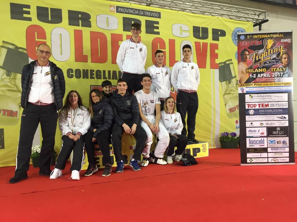 Coppa Europa Kickboxing, Golden Glove