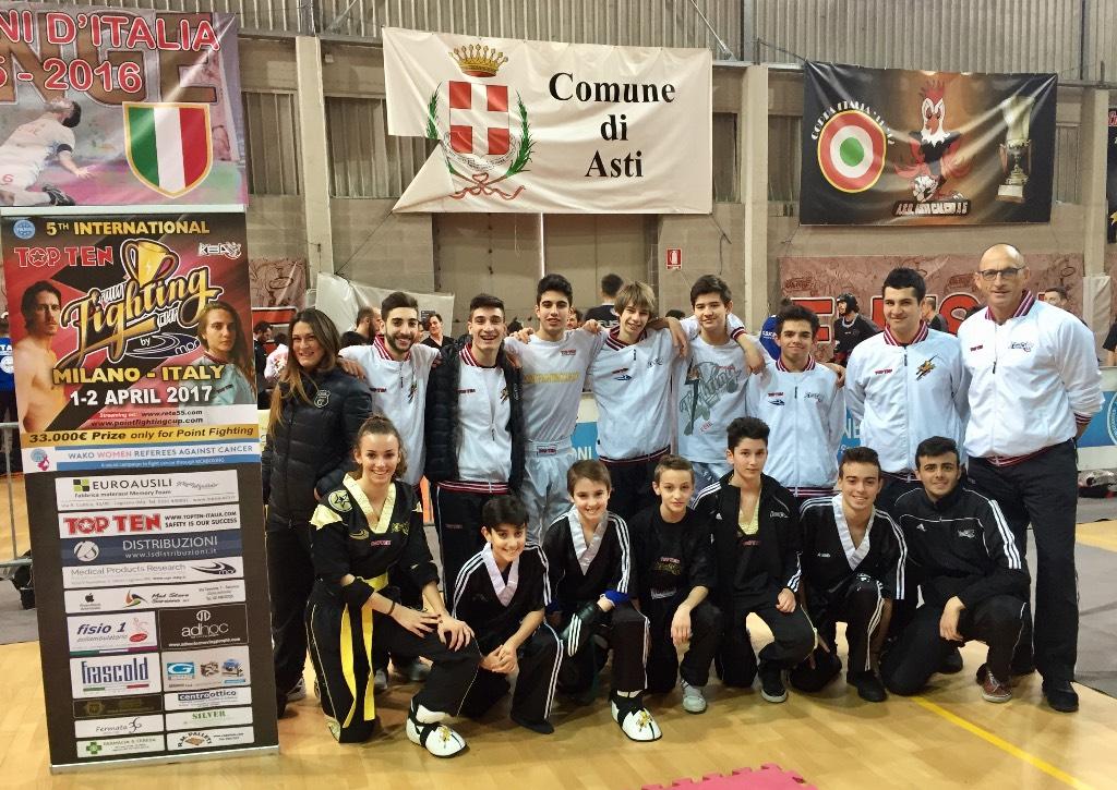 Asti, Campionato Interregionale Kickboxig