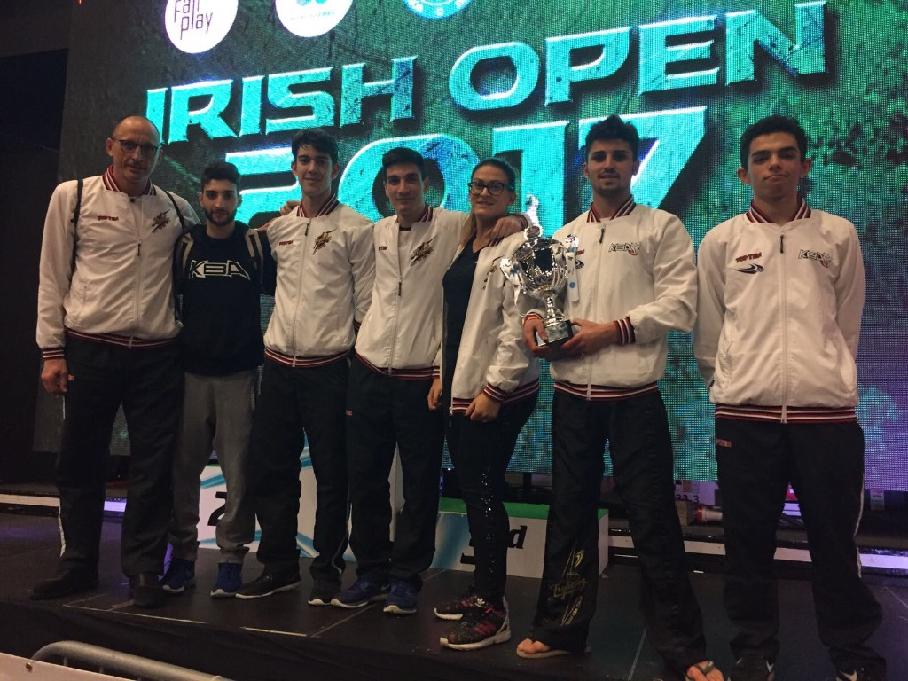 Irish Open, Coppa del Mondo di Kickboxing
