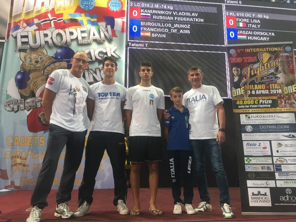 Campionati Europei Kickboxing