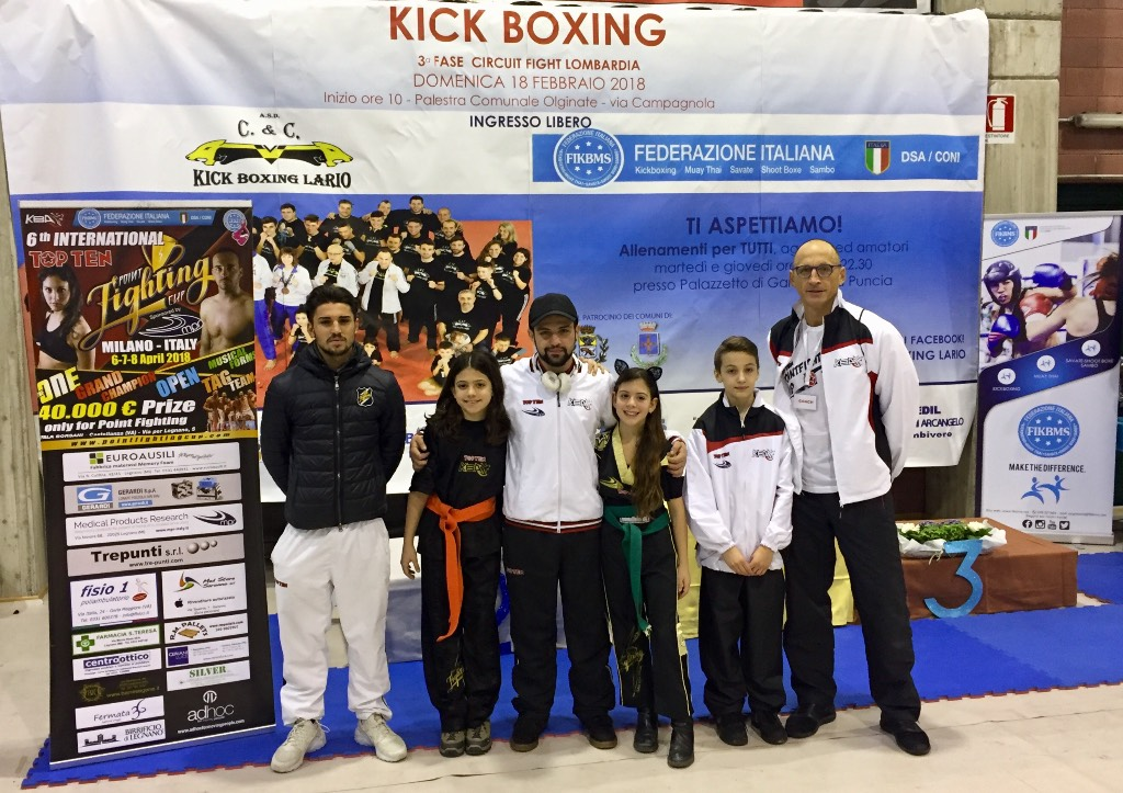 Kickboxing, 3*Circuit Fight Lombardia