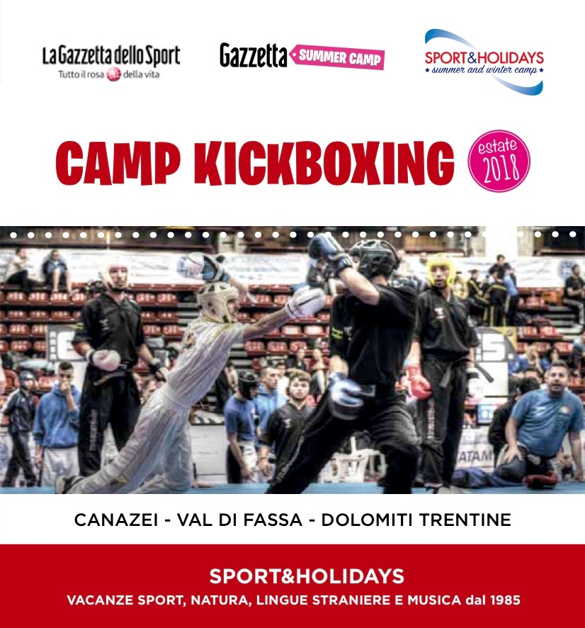 4°Kickboxing Gazzetta Summer Camp