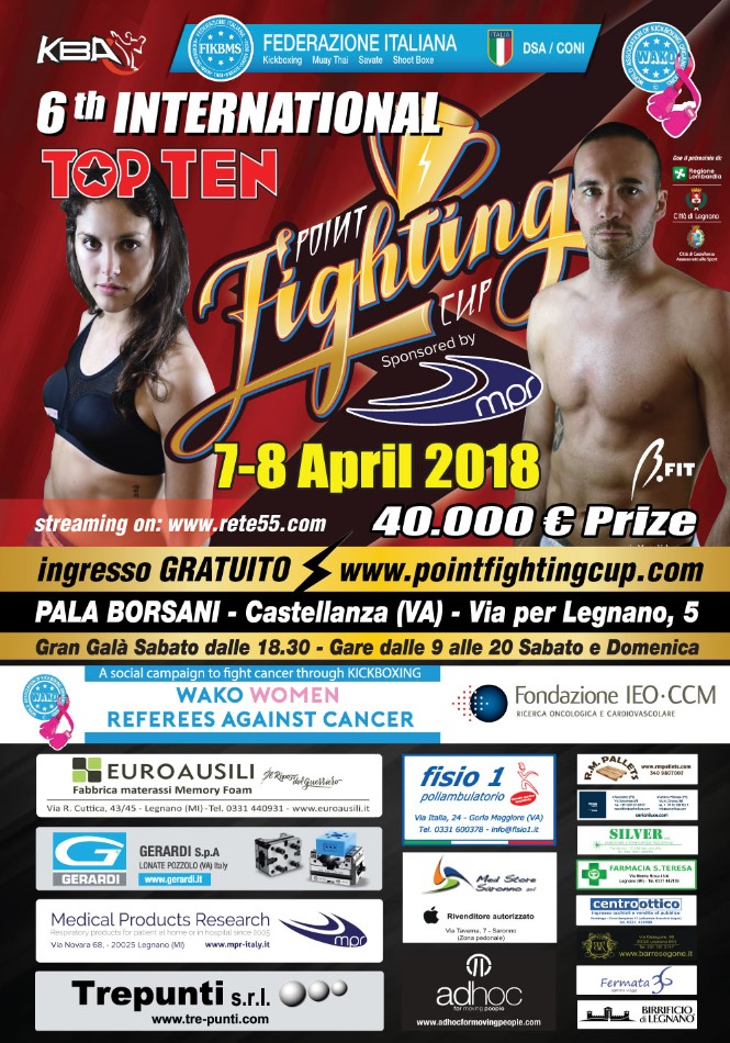Point Fighting Cup, Castellanza