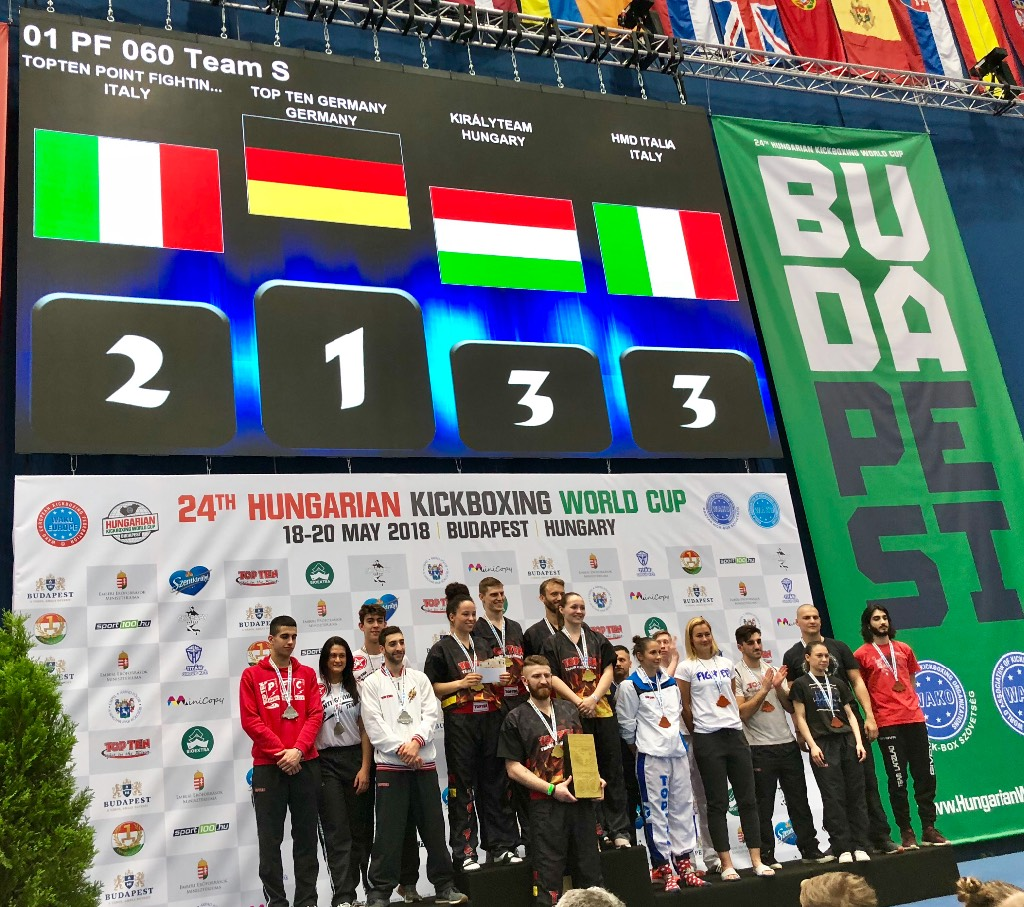 Kickboxing Hungarian World Cup